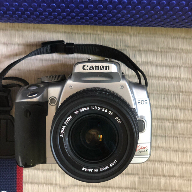 Canon(キヤノン)のCanon EOS kissX SIGMAレンズ18-50m付 スマホ/家電/カメラのカメラ(デジタル一眼)の商品写真