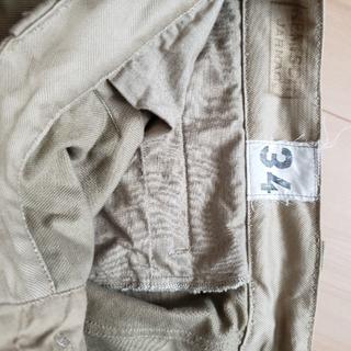 コモリ(COMOLI)のM52 フランス軍 チノパンツ 34(チノパン)