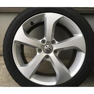 フォルクスワーゲン(Volkswagen)のゴルフ7GTI 純正ホイール(4本)(タイヤ・ホイールセット)