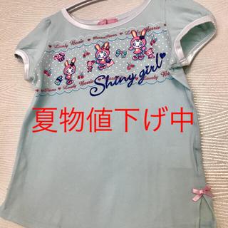 メゾピアノジュニア(mezzo piano junior)のメゾピアノ Tシャツ トップス(Tシャツ/カットソー)