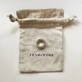 イエナ(IENA)のFRAMeWORK購入 シルバーリング(リング(指輪))
