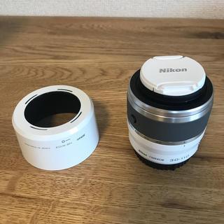 ニコン(Nikon)の☆ニコンミラーレス用望遠☆1 NIKKOR 30-110mm VR ホワイト(レンズ(ズーム))