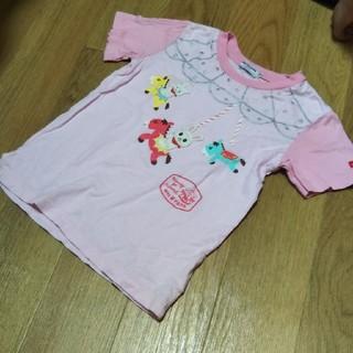 mikihouse - 110 メリーゴーランドTシャツ