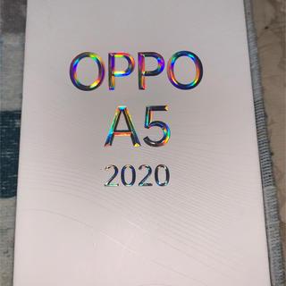 OPPO A5 2020 simフリー ブルー
