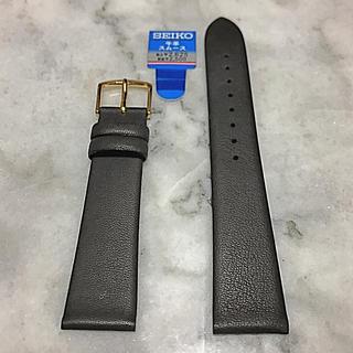 セイコー(SEIKO)の腕時計革ベルト 新品 茶色(レザーベルト)