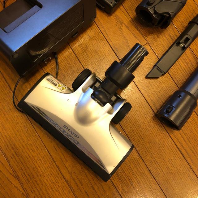 SHARP(シャープ)のシャープ sharp  掃除機 EC-SX200 ジャンク品 スマホ/家電/カメラの生活家電(掃除機)の商品写真