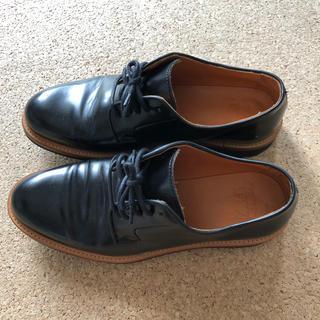 ナノユニバース(nano・universe)のnano-universe 革靴 ブラック 27.0cm(ドレス/ビジネス)