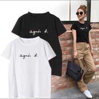 agnes b. - 大人気!! アニエスベー レディース Tシャツ ホワイト 半袖