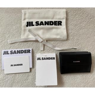 ジルサンダー(Jil Sander)のJIL SANDER ベビーウォレット 財布 ブラック(財布)