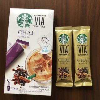 Starbucks Coffee - 【早いもの勝ち】スターバックス ✩ ヴィア ティーエッセンス チャイ