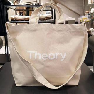 theory - セオリー コットン地 可愛いトートバック 新品