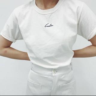 エディットフォールル(EDIT.FOR LULU)のedit for lulu(Tシャツ(半袖/袖なし))