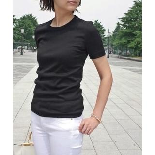 DEUXIEME CLASSE - 新品 ドゥーズィエムクラス GIZA フライスTシャツ ブラック 36