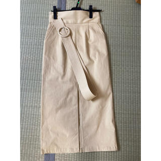 MURUA - ムルーア  スリットスカート