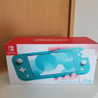 任天堂 - 任天堂 スイッチライト switch ターコイズ 本体 新品