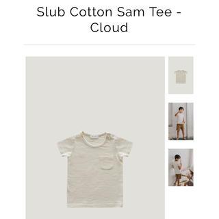 キャラメルベビー&チャイルド(Caramel baby&child )のjamie  kay 2y Tシャツ 白(Tシャツ)