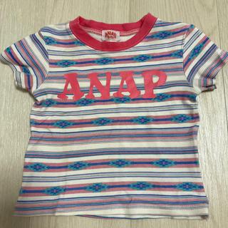 アナップキッズ(ANAP Kids)のANAP  kids ロゴTシャツ(Tシャツ/カットソー)