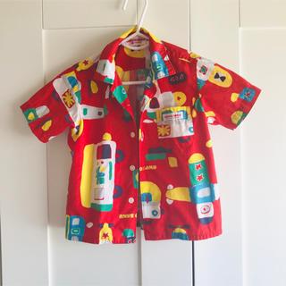 mikihouse - 乗り物シャツ