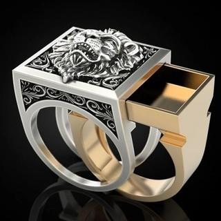 ライオン リング 指輪 アクセサリー(リング(指輪))