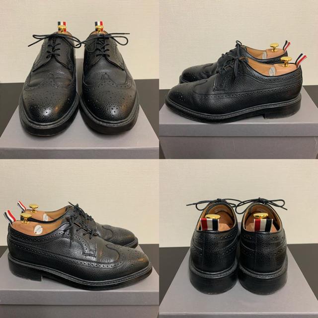 THOM BROWNE(トムブラウン)のTHOM BROWNE トムブラウン ウイングチップ シューズ 付属品完備 メンズの靴/シューズ(ドレス/ビジネス)の商品写真