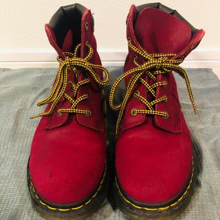 ドクターマーチン(Dr.Martens)の【お値下げ】Dr Martens ドクターマーチン ピンク ブーツ UK 7(ブーツ)