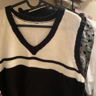 ロキエ(Lochie)の❤︎ knit best . vintage ❤︎(ベスト/ジレ)