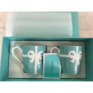 Tiffany & Co. - ティファニー リボン マグカップ