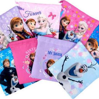 アナと雪の女王 - すぐ発送 アナ雪 巾着服 5枚セット