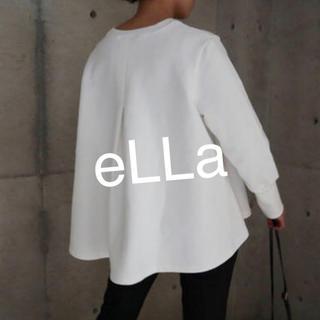 ENFOLD - 【新品・未使用】eLLa 希少フレアスウェット