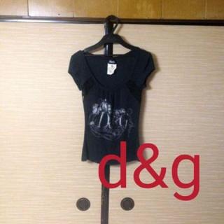 ドルチェアンドガッバーナ(DOLCE&GABBANA)のDOLCE&GABBANAレースTシャツ ラメ レース(Tシャツ(半袖/袖なし))
