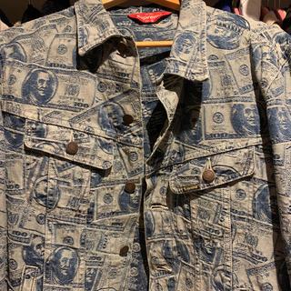 Supreme - Supreme 100 dollar bill trucker jacket