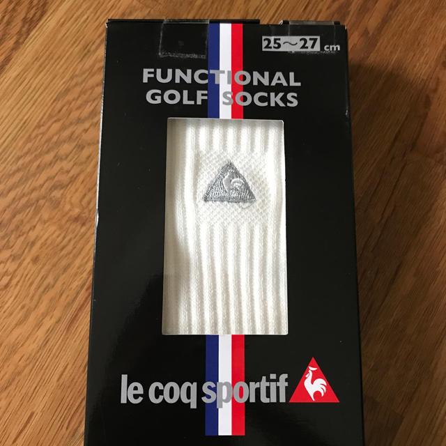 le coq sportif(ルコックスポルティフ)のゴルフ ソックス メンズのレッグウェア(ソックス)の商品写真