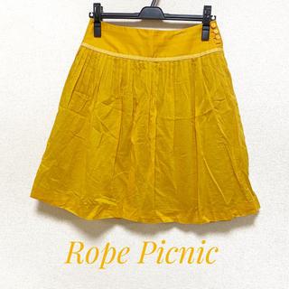 ロペピクニック(Rope' Picnic)のロペピクニック サイズ38 フレアプリーツスカート(ミニスカート)