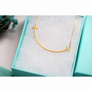 Tiffany & Co. - ティファニーの笑顔のネックレス女