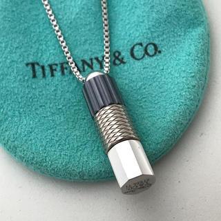 ティファニー(Tiffany & Co.)のTIFFANY チタン/ステンレススチールネックレス 美品希少(ネックレス)