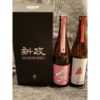 新政2020年度特別頒布会 6月分桃やまゆ&茜孔雀720ml (日本酒)