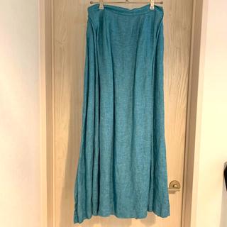 Drawer - マイラン MYLAN 高級リネンマキシスカート