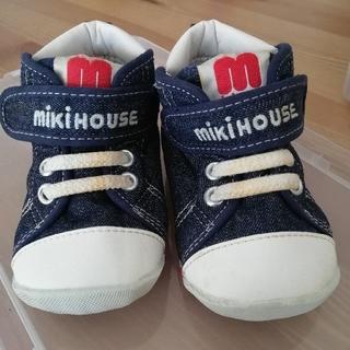 mikihouse - 【mikiHOUSE】ベビーシューズ12.5