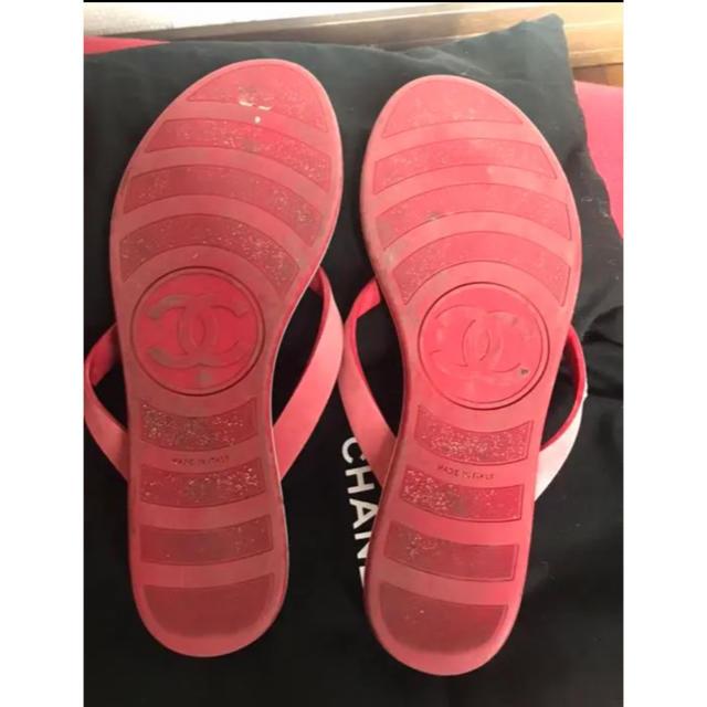 CHANEL(シャネル)のCHANEL   😭期間限定値下げ😭ビーチサンダル レディースの靴/シューズ(ビーチサンダル)の商品写真