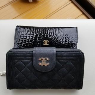 ジャンク品黒財布(財布)
