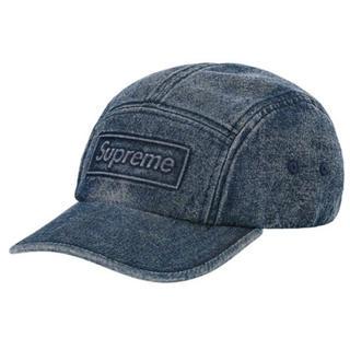 シュプリーム(Supreme)の新品未使用 supreme Embossed Denim Camp Cap(キャップ)