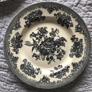ハロッズ(Harrods)のブラック アジアティックフェザンツ バーレイ  burleigh プレート(食器)