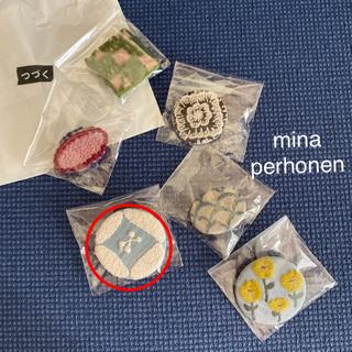 ミナペルホネン(mina perhonen)のミナペルホネン mina perhonen   つづく展  ブローチ dear(ブローチ/コサージュ)