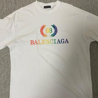 Balenciaga - balenciaga ロゴtシャツ