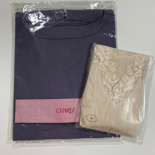 シャルレ(シャルレ)のシャルレ Tシャツとカップ付インナー(Tシャツ(半袖/袖なし))