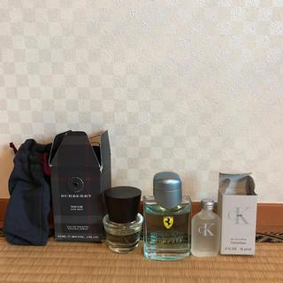 バーバリー(BURBERRY)の香水 セット  Burberry、カルバン・クライン、Ferrari、(ユニセックス)