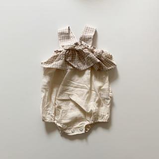 キャラメルベビー&チャイルド(Caramel baby&child )の新品未使用 韓国子供服 ベビーロンパース(ロンパース)