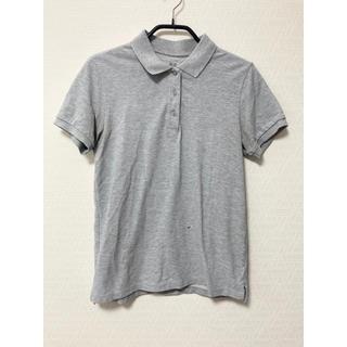 ユニクロ(UNIQLO)のUNIQLO ユニクロ ポロシャツ  グレー Mサイズ(ポロシャツ)