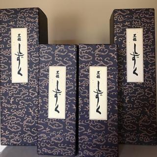 黒龍 しずく 720ml ×2本  1800ml ×2本  合計4本 最新(日本酒)