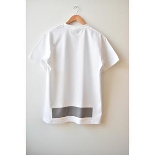コモリ(COMOLI)の綿天竺ロゴTシャツ T_01(Tシャツ/カットソー(半袖/袖なし))